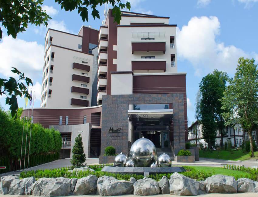 Отель Миротель Трускавец Фото - Фонтан.