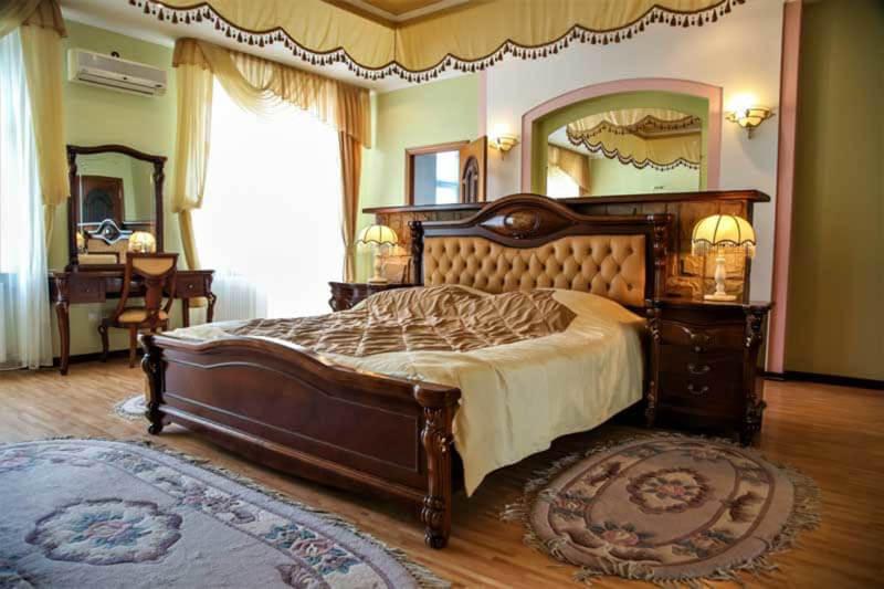 Жемчужина Прикарпатья Трускавец Номер - апартаменты - Кровать.