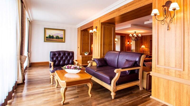Риксос-Прикарпатье Фото - Номер апартаменты - Мебель.