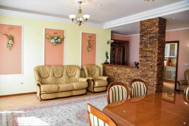 Жемчужина Прикарпатья Трускавец Номер - апартаменты - диван.