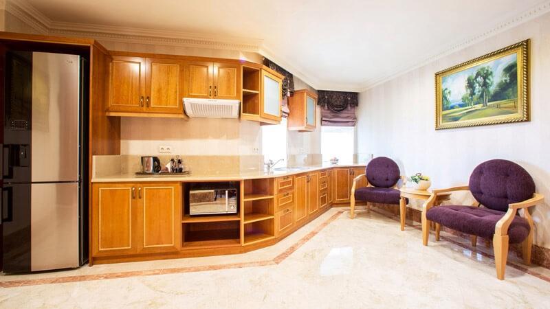 Риксос-Прикарпатье Фото - Номер апартаменты - Кухня.