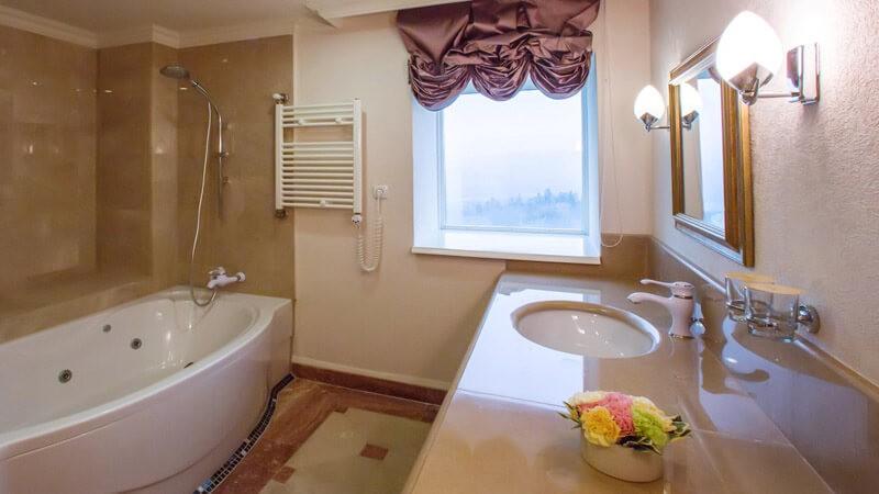 Риксос-Прикарпатье Фото - Номер апартаменты - Санузел.