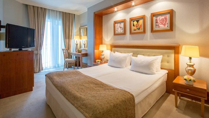 Риксос-Прикарпатье Фото - Номер Классик - Односпальная кровать.