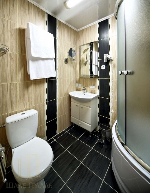 Шале Грааль Трускавец Номер - Comfort Apart - Туалет.
