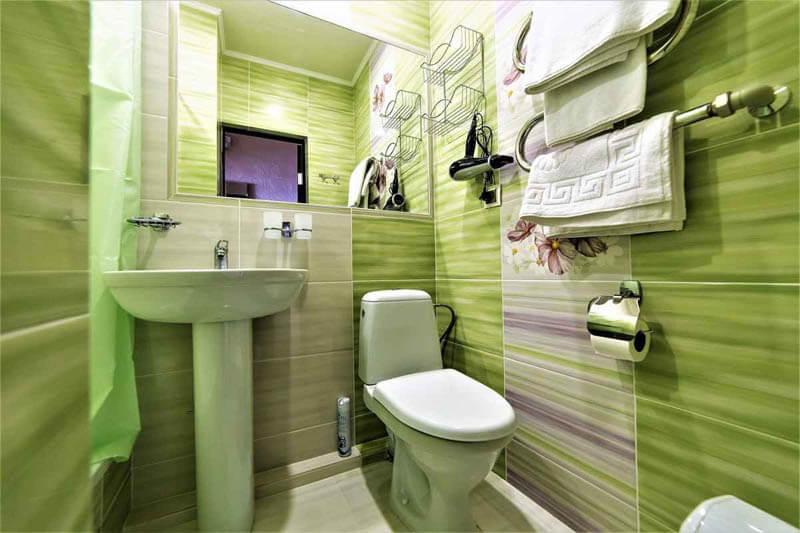 Жемчужина Прикарпатья Трускавец Номер - Двухместный Улучшенный - Туалет.