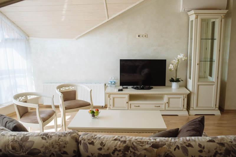 Санаторий Свитязь Трускавец Фото - Номер grand suite - Телевизор.
