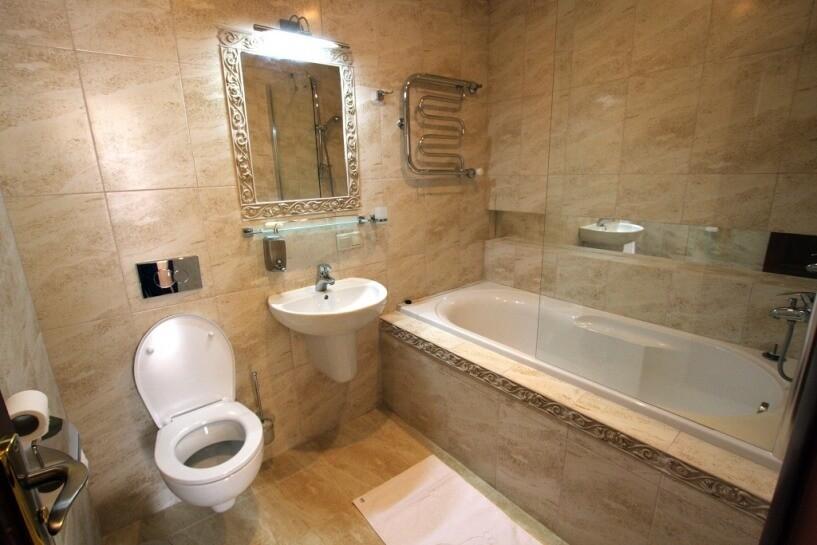 Санаторий Южный Номер - ЛЮКС - туалет.