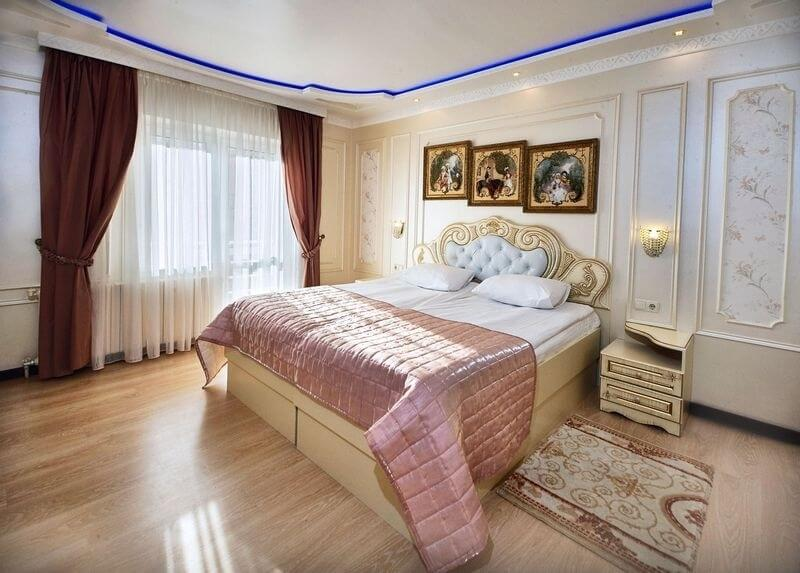 Санаторий Виктор в Трускавце Номер - люкс однокомнатный - Спальня.