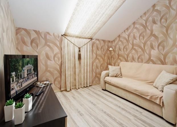 Шале Грааль Трускавец Номер - Queen Suite Apart - диванчик.