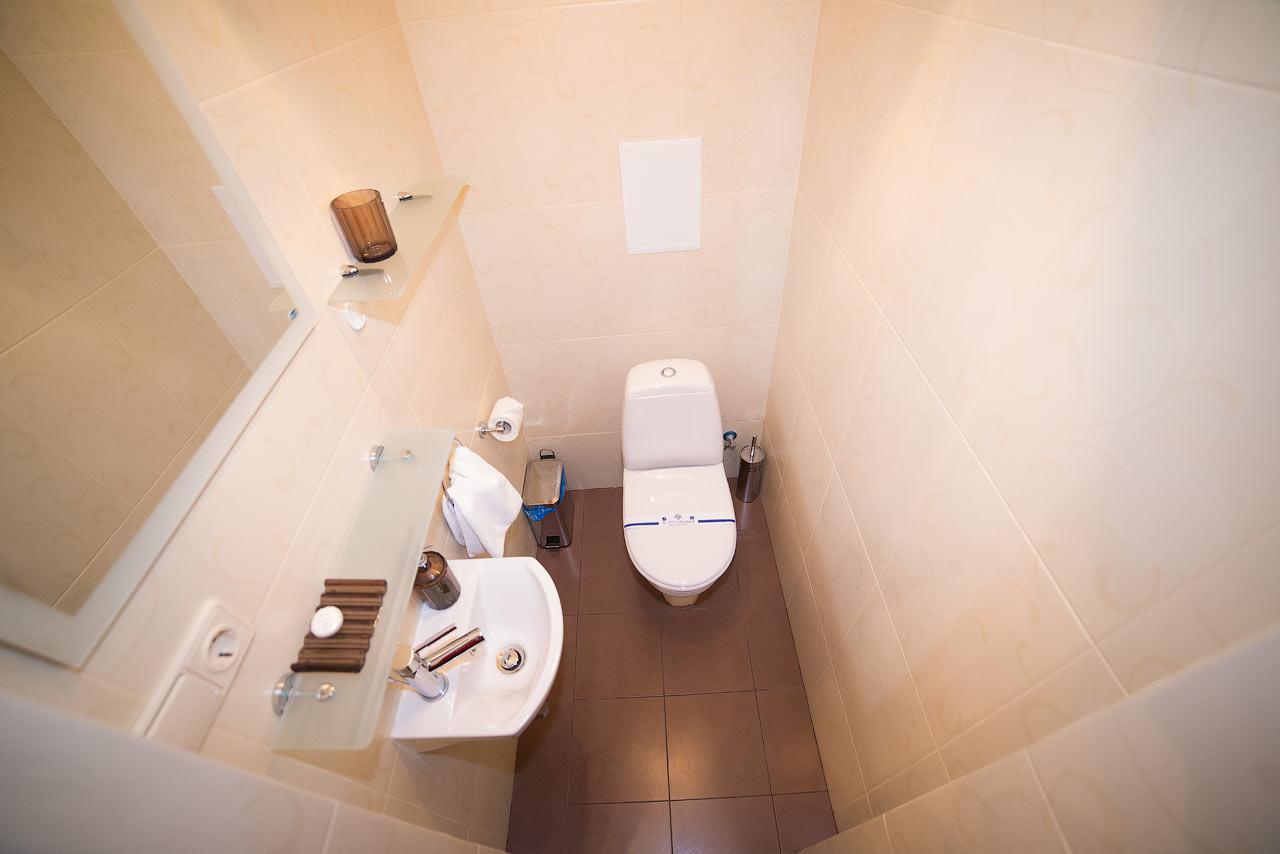 Шале Грааль Трускавец Номер - Queen Suite Apart - Туалет.