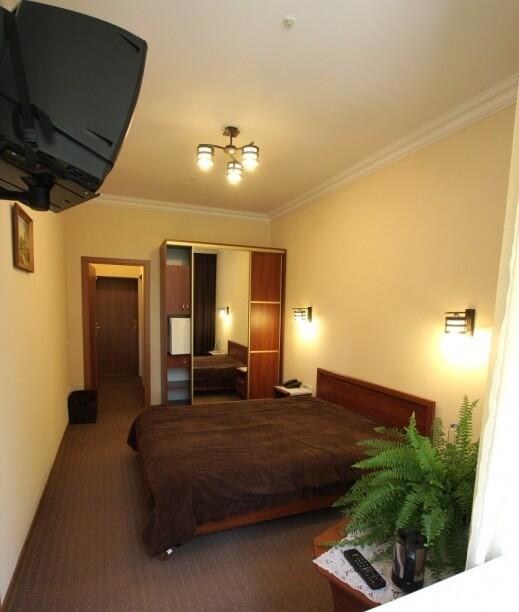 Санаторий Южный Номер - ДВУХМЕСТНЫЙ (DOUBLE)+ - Кровать.