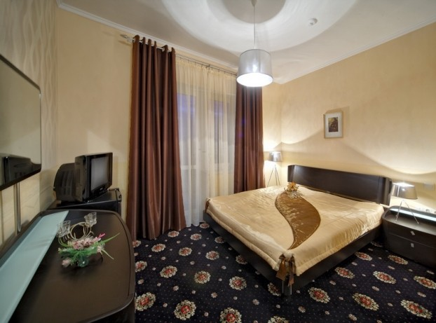 Шале Грааль Трускавец Номер - Standard double - Спальня.
