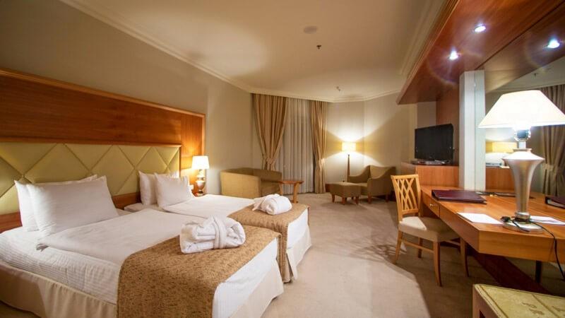 Риксос-Прикарпатье Фото - Номер улучшенный - Кровати.