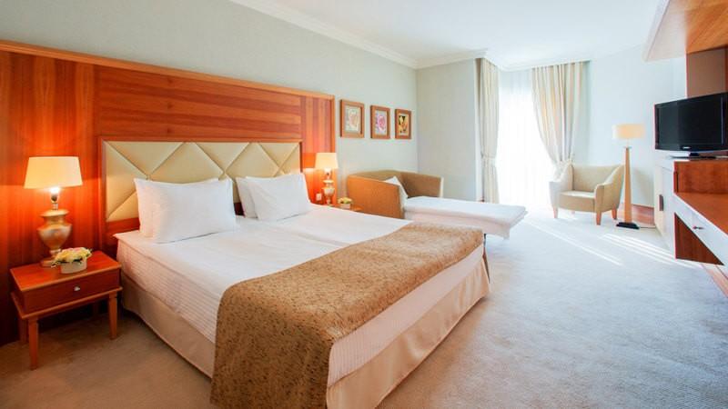 Риксос-Прикарпатье Фото - Номер улучшенный - Спальня.