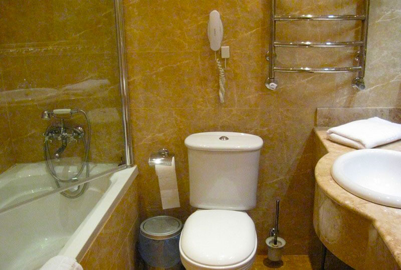 Женева Трускавец Номер - Single - туалет.