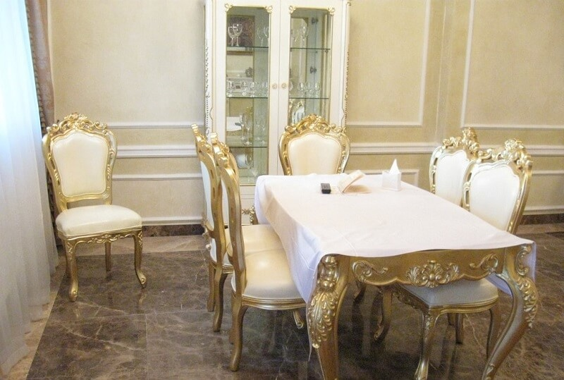Женева Royal Grand Номер - PRESIDENTAL SUITE - Стол.