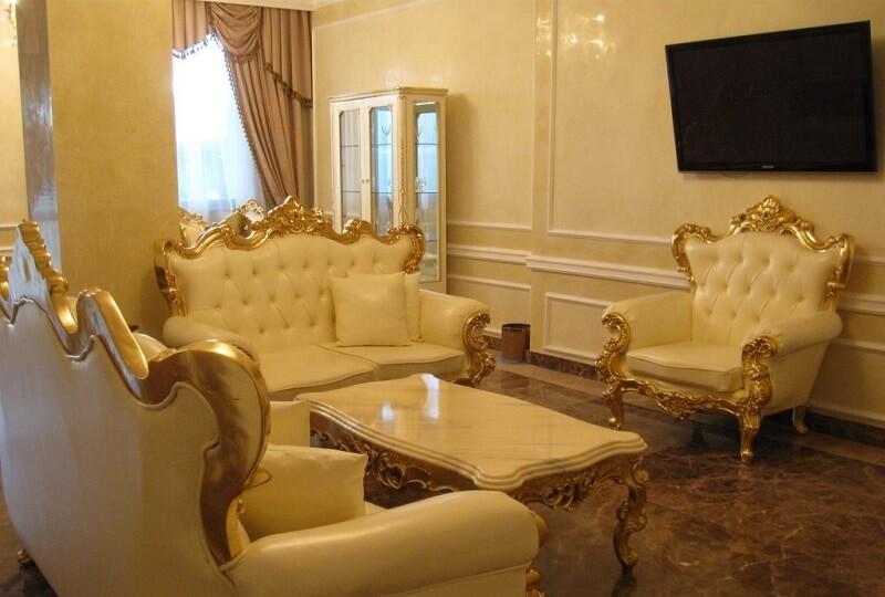 Женева Royal Grand Номер - PRESIDENTAL SUITE - Гостиная.