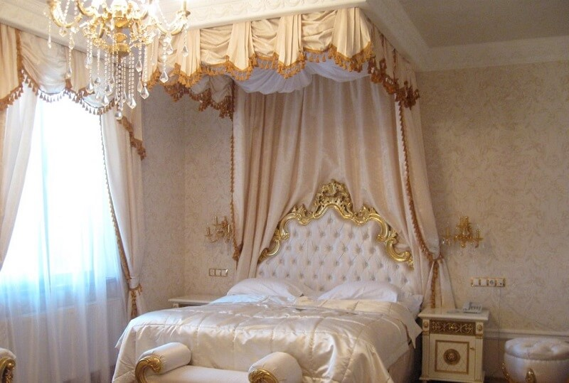 Женева Royal Grand Номер - PRESIDENTAL SUITE - Кровать.