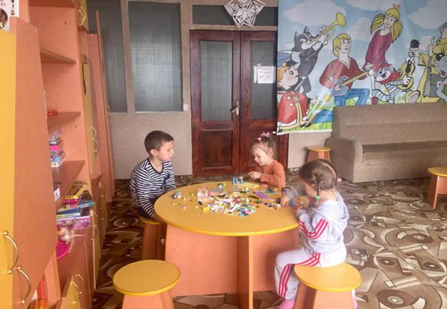 Санаторий Алмаз Трускавец Фото - Детская комната.