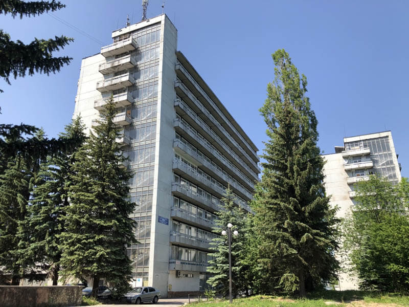 Санаторий Алмаз Трускавец Фото - Корпус.