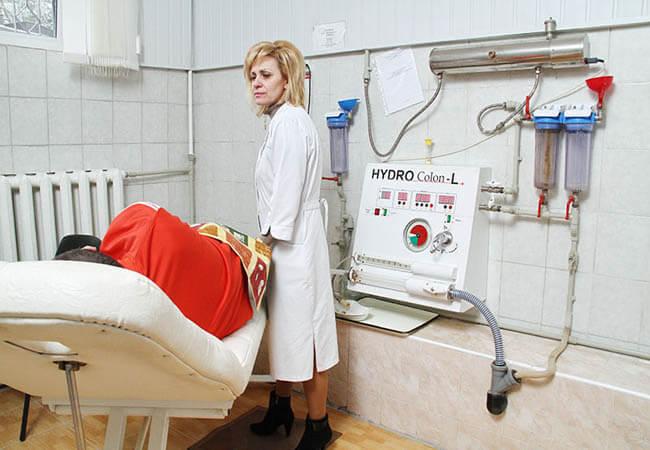 Санаторий Арника Трускавец Фото - Гидроколонотерапия