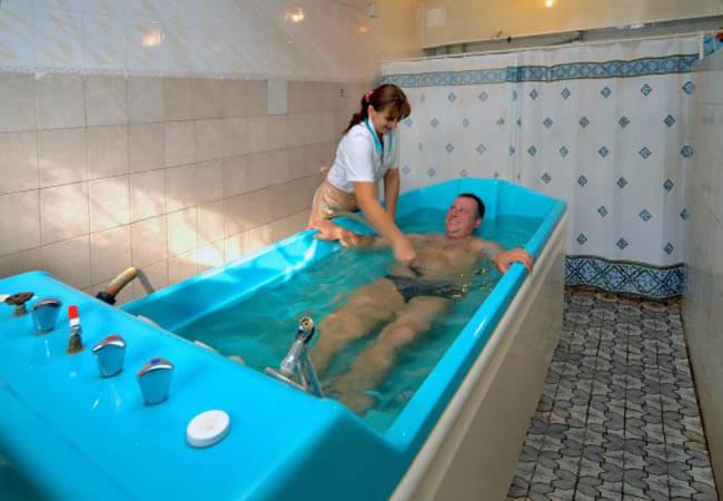 Санаторий Арника Трускавец Фото - Лечебная ванна.
