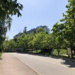 Санаторий Кристалл Трускавец Фото - вид с улицы.