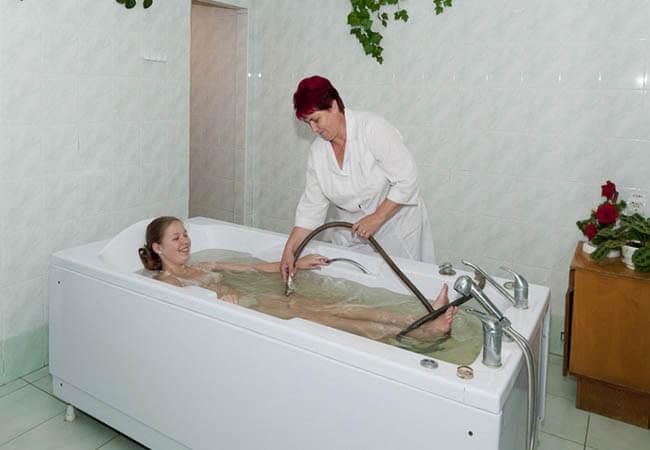 Санаторий Молдова Трускавец Фото - Лечебные ванны.