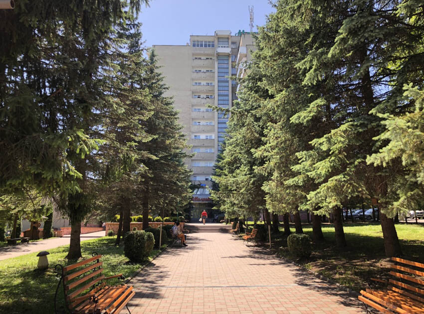 Санаторий Молдова Трускавец Фото - Алея