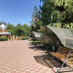 Санаторий Молдова Трускавец Фото - Качели.