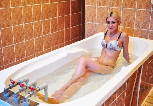 Санаторий Шахтер Трускавец Фото - Лечебная ванна.