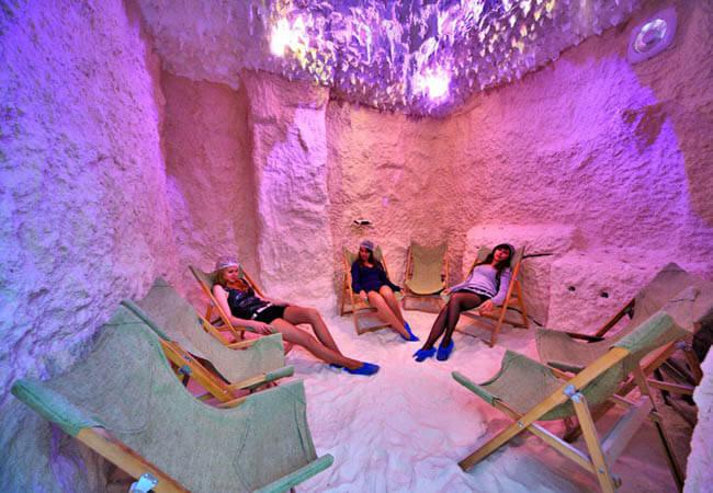 Санаторий Шахтер Трускавец Фото - соляная комната.