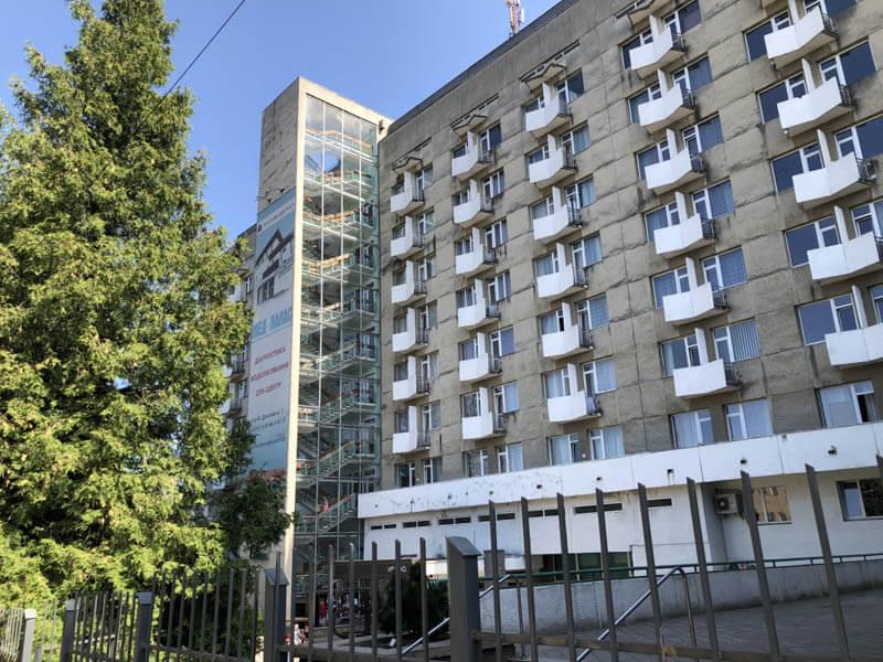 Санаторий Весна Трускавец Фото - Вид с улицы