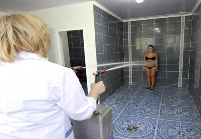 Санаторий Южный Трускавец Фото - душ шарко.