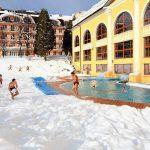 Санаторий Женева Трускавец Фото - Спа зимой.