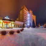 Санаторий Карпаты Трускавец Фото - Зимой.