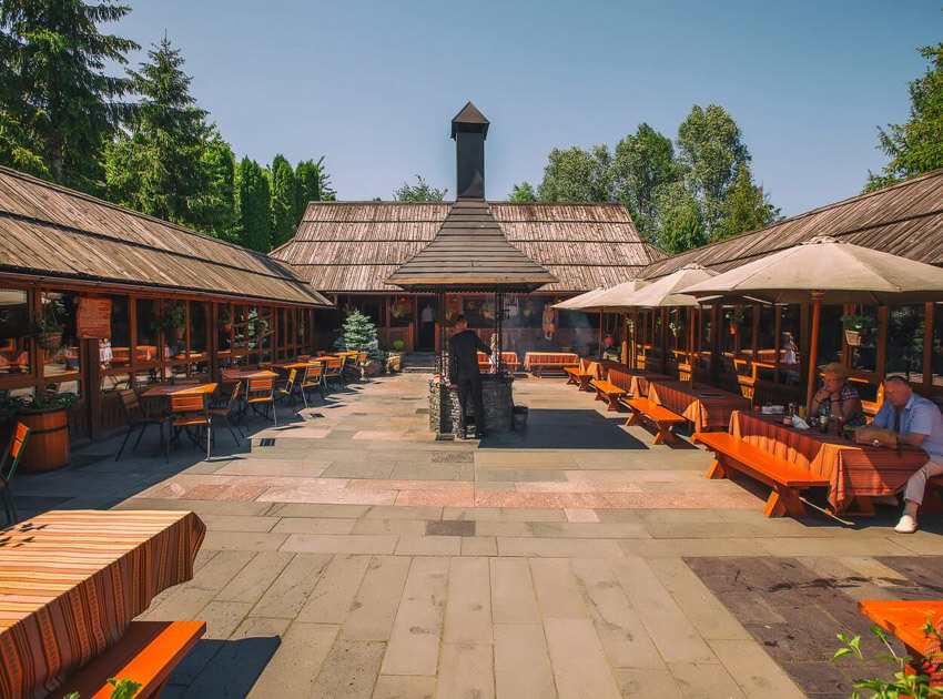 Санаторий Карпаты Трускавец Фото - ресторан.