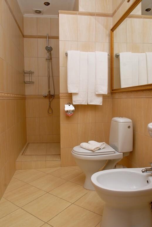 Женева CEZAR Номер - DOUBLE - туалет.