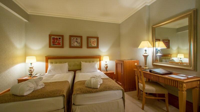 Риксос-Прикарпатье Фото - Номер Стандарт - Спальня.