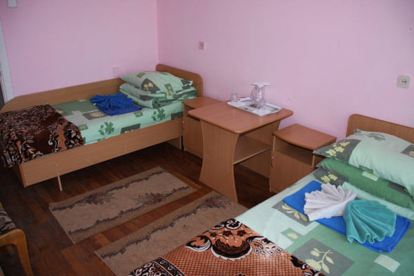 Санаторий Алмаз Трускавец Фото - Номер однокомнатный - Кровати.