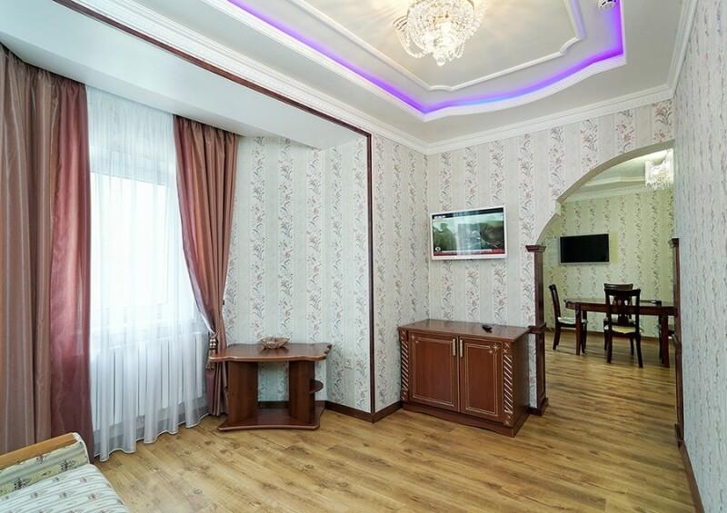 Санаторий Виктор в Трускавце Номер - люкс трехкомнатный - Комната.