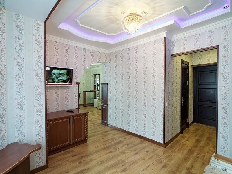 Санаторий Виктор в Трускавце Номер - люкс трехкомнатный - Гостиная.