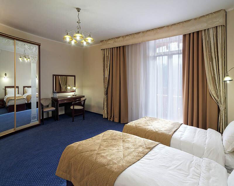 Санаторий Свитязь Трускавец Фото - Номер улучшенный стандарт - Две кровати.