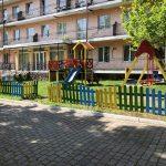 Санаторий Женева Трускавец Фото - территория для детей.