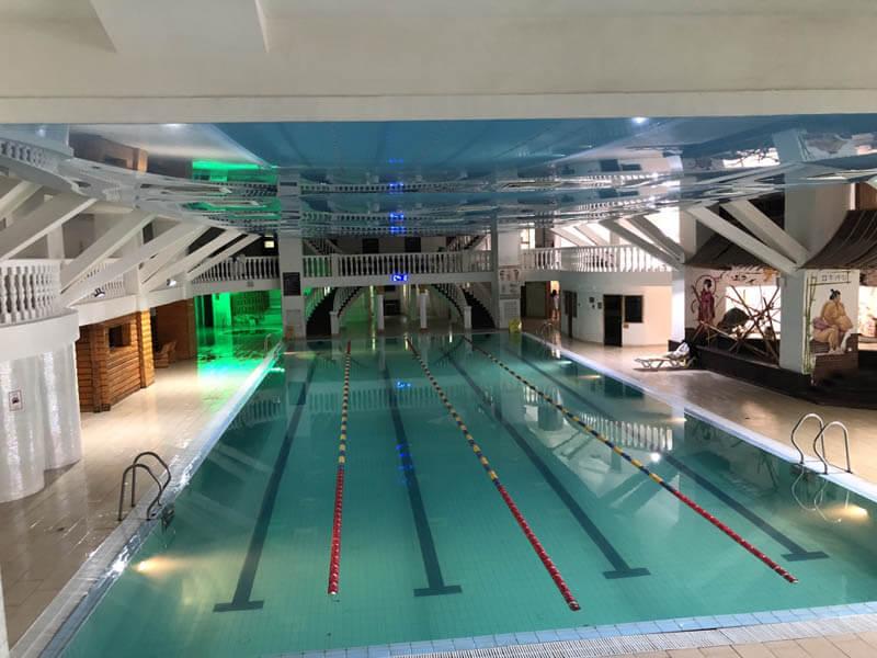 Санаторий Женева Трускавец Фото - Спортивный бассейн.