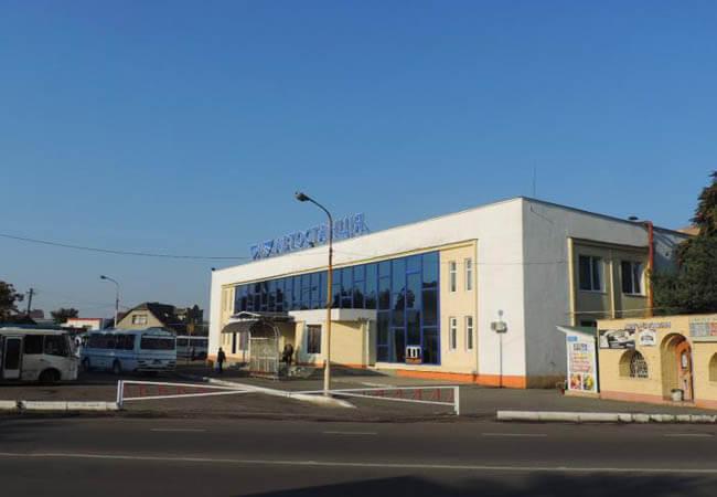 Автовокзал в Ужгороде.