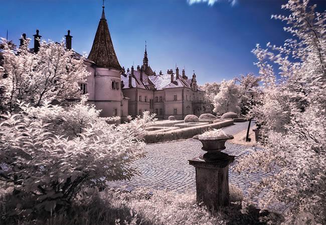 Дворец Шенборнов в Закарпатье
