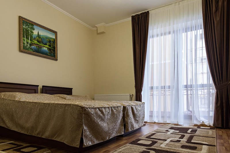 Термал Стар Номер двухместный стандарт - Кровать.