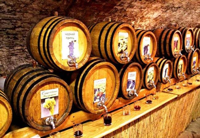 Фестиваль вина в Закарпатье.