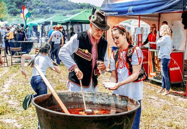 Фестиваль в Закарпатье.